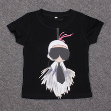 2-8T 2017 Fashion summer t-shirt for children brand design short-sleeved T-shirts boy and girl clothing baby cotton T-shirt