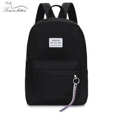 2019 Новый женский рюкзак с кисточками буквы Япония кольцо походный рюкзак, женский лента для девочек Женский рюкзак Mochilas Рюкзак через плечо сумка