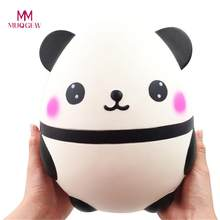 MUQGEW Squishy Jumbo mignon Panda Kawaii crème Squishies parfumées Poopsie slime surprise lente augmentation enfants jouets faire Squishy(China)