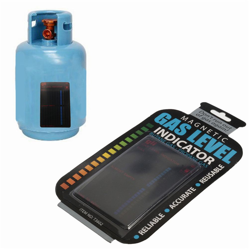 Fuel Gauge Caravan Bottle Temperature Measuring Stick Magnetic Gas Cylinder Tool Gas Tank Level Indicator Propane Butane LPG