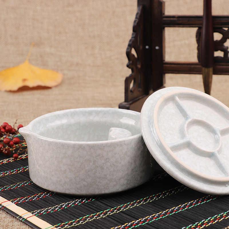 1 Pezzo, di Ceramica Piatto Inchiostro Vernice Piatto Cinese di Calligrafia Cinese Pittura di Arte Materiale Scolastico