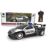 1:24 elektrische 5 Stil rc auto Spielzeug für Jungen Polizei sport Fahrzeug Mini Diecast Modell Autos Spielzeug für kinder freunde moto oyuncak