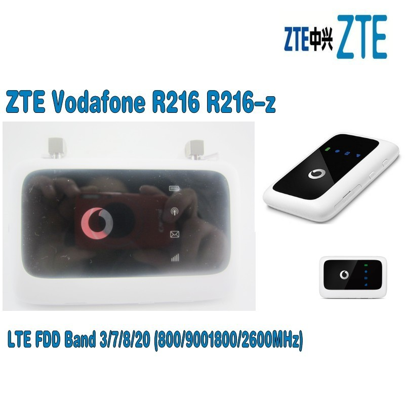 Lot of 200pcs Unlocked ZTE Vodafone R216 R216-z with Antenna 4G LTE 150Mbps Mobile Pocket Hotspot