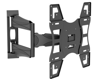 cnxdcold rolled steel material full motion type lcd tv wall mount bracket suitable tv size 32. Black Bedroom Furniture Sets. Home Design Ideas