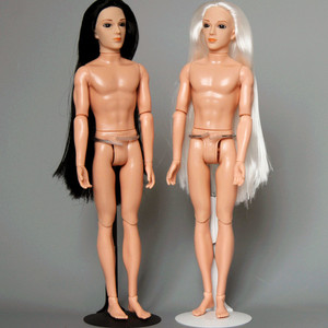 3D Eyes Boy Doll / with 14 joi