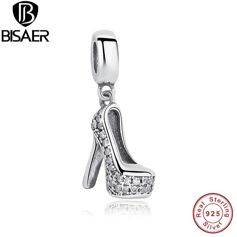 BISAER 925 Sterling Sølv Angel Wings Radiant Orchid Blændende Daisy - Mode smykker - Foto 6