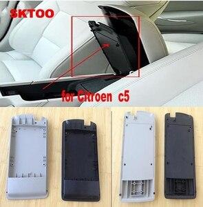 SKTOO для Citroen C5, чехол для arm, коробка для среднего рычага, центральный ящик, чехол для Citroen C5