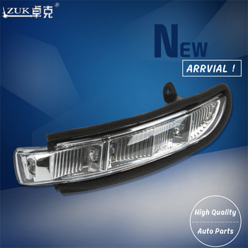 ZUK Rearview Side Mirror Turn Signal LED Light Repeater For Mercedes-Benz W211 W221 W219 2007-2010 E320 E350 E550 E63 S600 S550