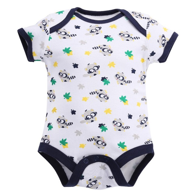 1 Year Birthday Body Bebe Menino 100 Cotton Baby Boy Clothes Short