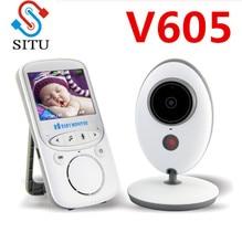 VB605 bezprzewodowa elektroniczna niania 2.4 Cal kolorowa kamera ochrony domofon IR 24h Baby Walkie IR LED przenośna kamera dla niemowląt