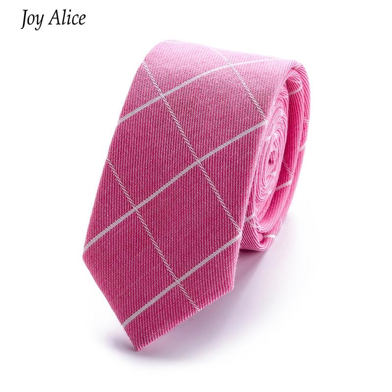 Brand 2018 New Arrival Gentlemen Neckties slim 6 cm bumbac cravată - Accesorii pentru haine