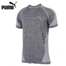 Nueva llegada original 2017 Puma evoknit mejor tee hombres Camisetas manga  corta ropa deportiva d4b9efe2d2534