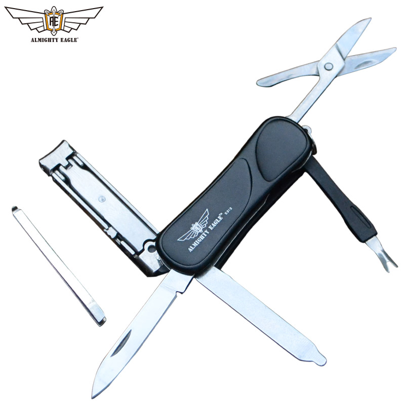 ALMIGHTY EAGLE Multifunction Tools Nail Clippers Knife Scissors Blade Mini Clipper Portable Tool EDC New