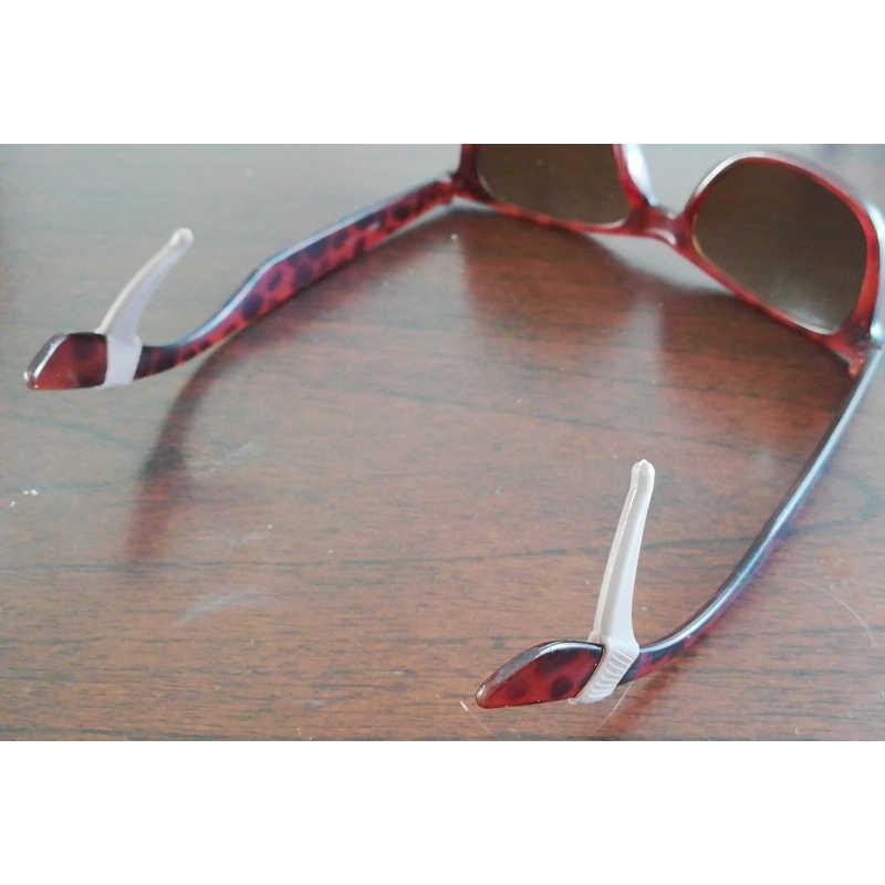 Anti Slip Ear Hook Kacamata Eyewear Aksesoris Kacamata Silikon Pegangan Candi Tip Holder Tontonan Kacamata Grip
