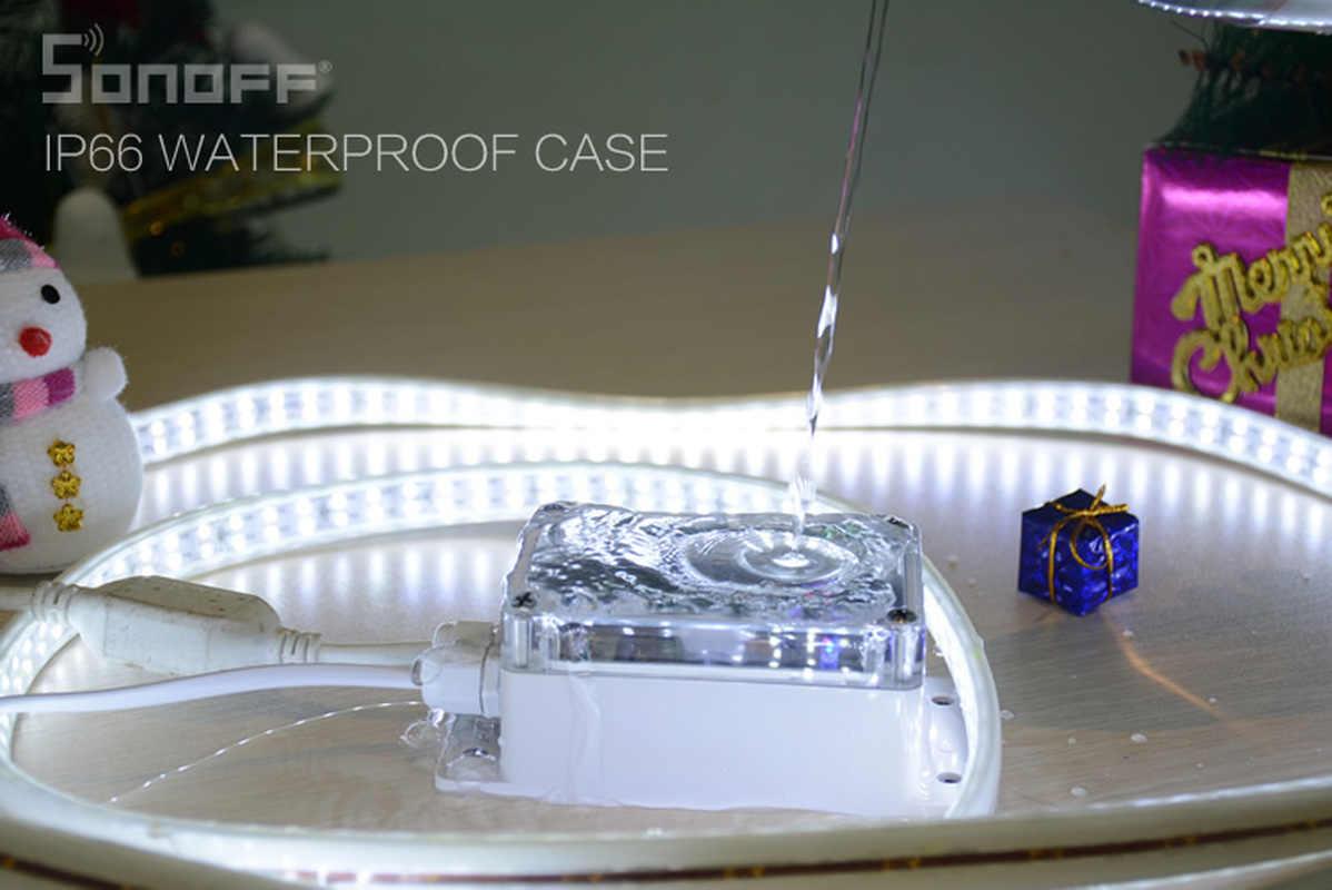 Sonoff IP66 غطاء مقاوم للماء حالة ل Sonoff الأساسية/RF/المزدوج/الأسرى/TH16/G1 الذكية المنزل المنزل أتمتة اللاسلكية المنزل الذكي