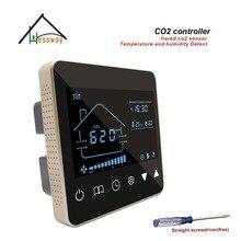 HESSWAY офис, конференц зал 3 скорость датчик качества воздуха CO2 газоанализатор диоксида углерода для Управление свежего воздуха системы
