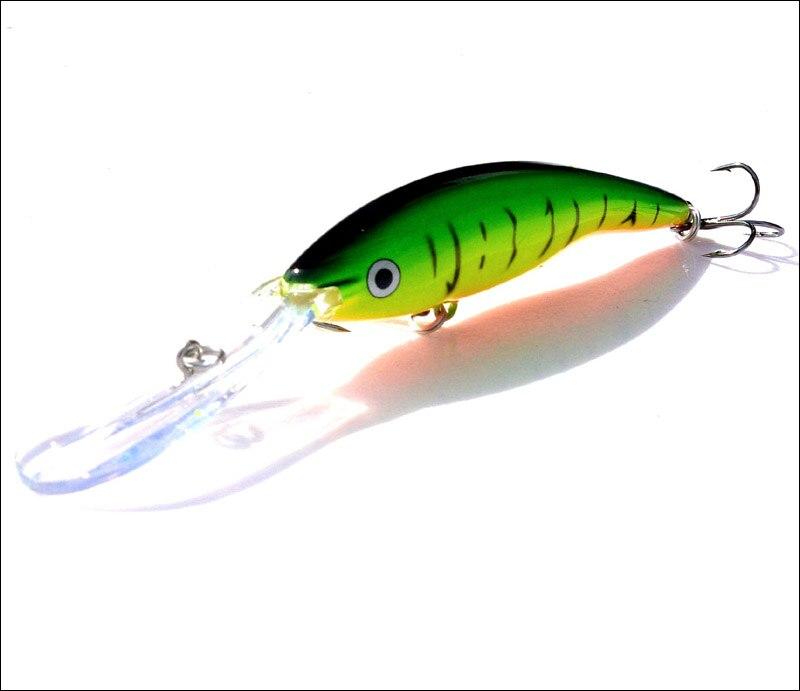 pesca 14g 13.5cm isca dura flutuante crankbait