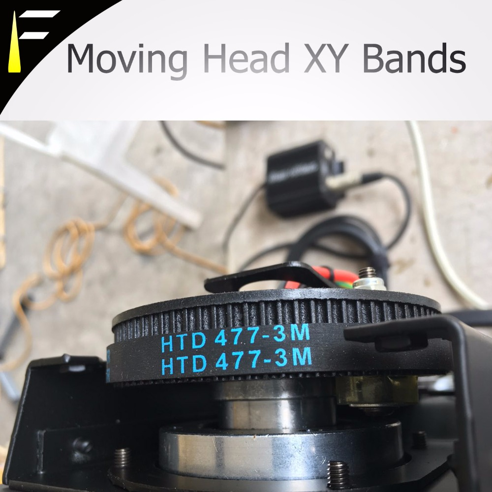 200W 230W 280W 330W Stage Moving Head Light X/Y Bands Belt Bandas Arm Band Moving Head Beam Light Belt 3M144 291 375 378 477 480