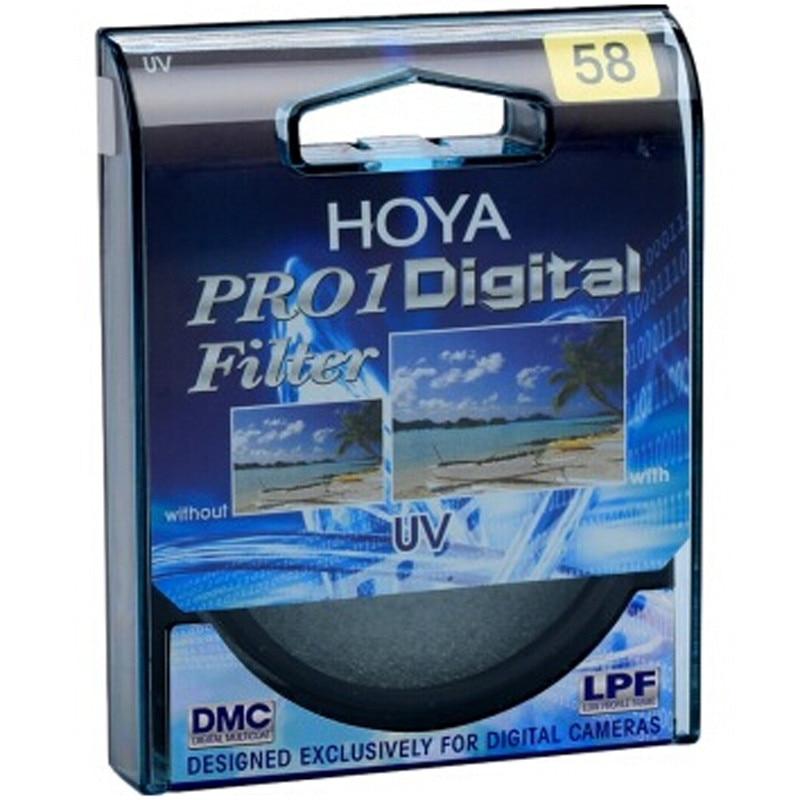 Prix pour 49 52 55 58 62 67 72 77 82mm Hoya PRO1 MC UV (O) Pro1D Multi-enduit UV Filtre