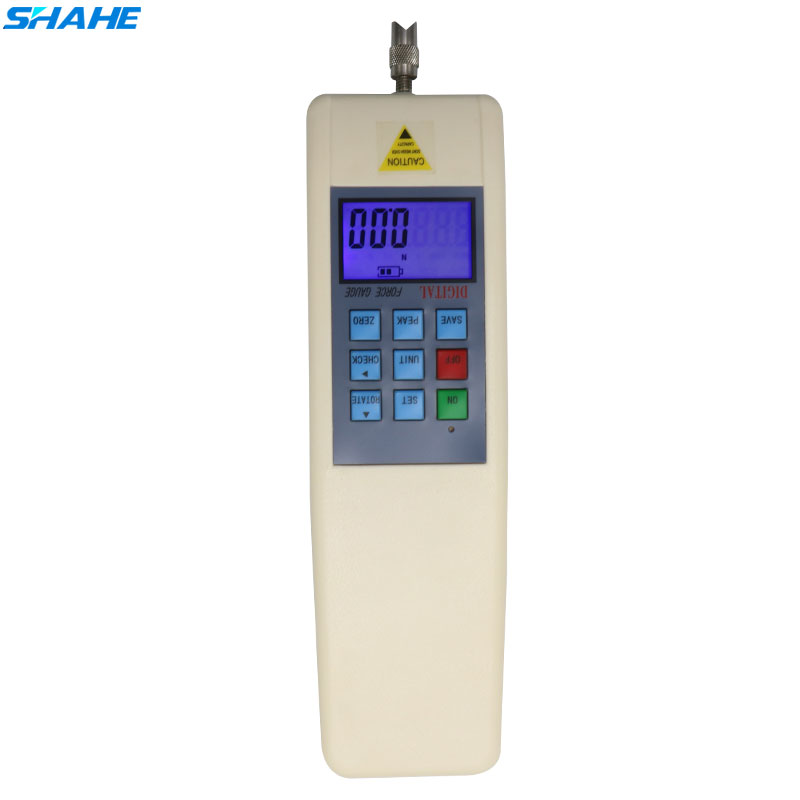 SHAHE HF 2 Digital Push Pull Force Gauge Portable Dynamometer Force Tester Gauge Meter 2N 0