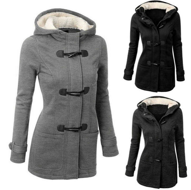 Hoodies women 2018 new arrivals fashion winter jacket women   parkas   long section warm winter coat women   parkas   outwear clothing