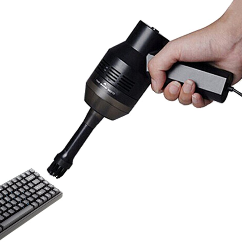 Mini USB Partes de aspirador teclado del ordenador portátil Cepillos boquilla colector de polvo portátil lechón kit limpio para Limpieza PC portátil