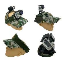 Многофункциональный Действий Камеры Открытый Спорт Шляпу Крышка для Gopro Hero 5 Hero 4 3 SJ4000 SJ6000 SJ7 XiaoYi Аксессуары