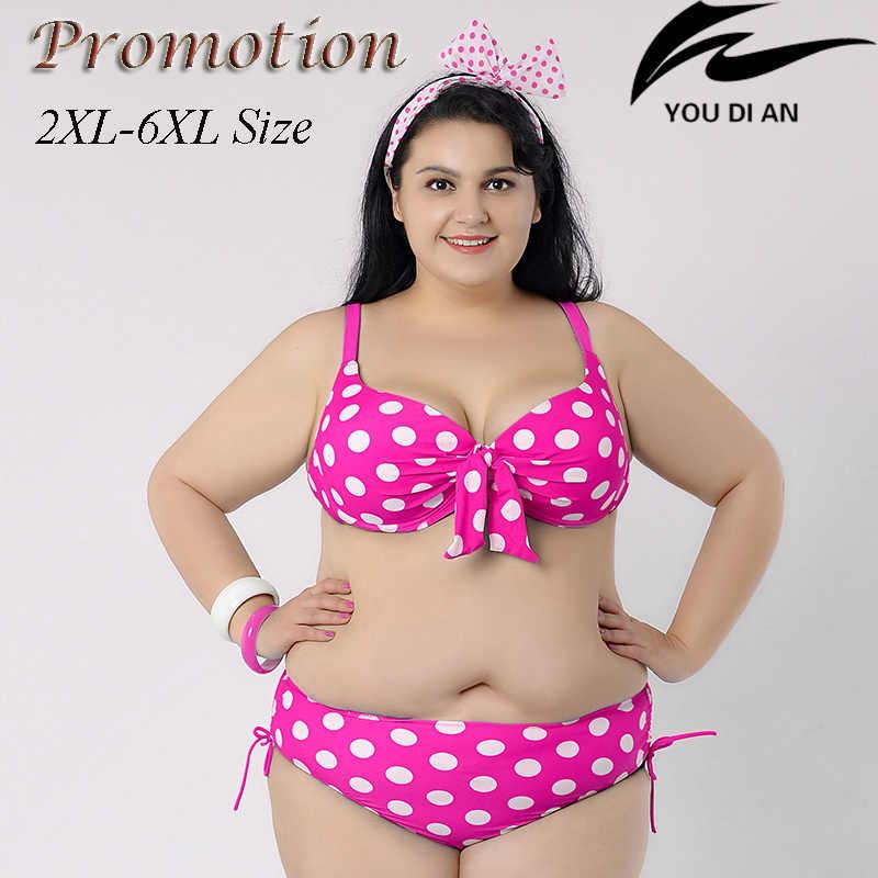 a0fff9f5b21 ... hot push up plus size bikini large size bikinis set 2XL to 6XL fat  swimwear swimsuit ...