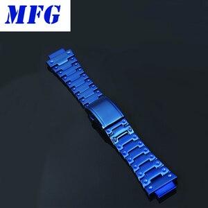 Image 3 - Mfg時計バンドDW5600 時計バンドストラップ & ケース金属ステンレススチールブレスレットスチールベルトアクセサリー