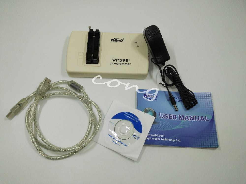 VP-598 Universal Programmer (Upgrade Version of VP390) б у vp d463i продам