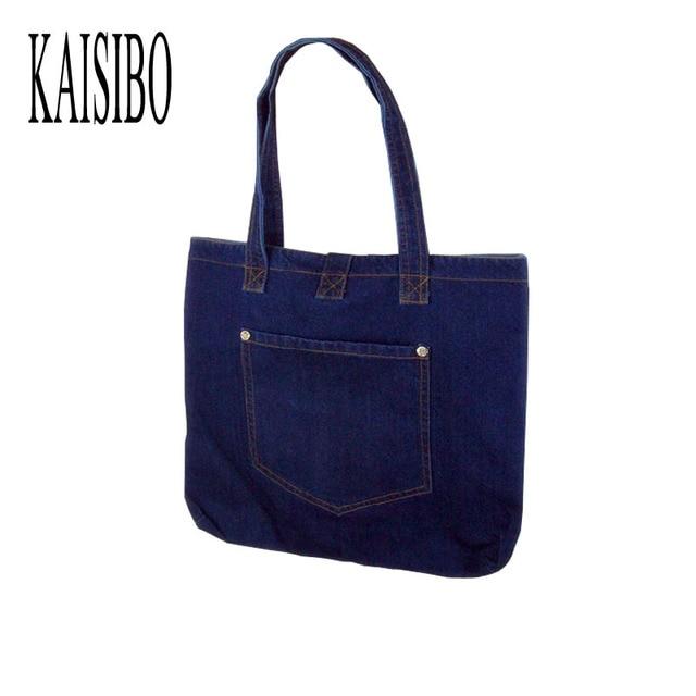Kaisibo Denim Shoulder Bags Women Handbags Large Capacity Daily Simple Design Bag Front Pocke S Handbag