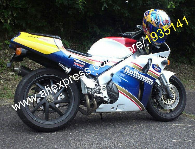Горячие продаж,для Honda RVF400R части MC35 1994-1998 RVF35 ЛРВ 400 NC35 Р 94 95 96 97 98 Ротманс послепродажного мотоцикл обтекатель комплект