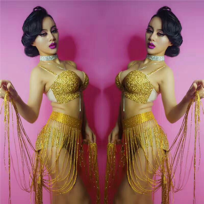 2018 New Black Jazz Dance bodysuit For Lady Sexy Clothes Women Bar Dj Dancers Leotard Stage Vintage Singer Stage Costumes BD105