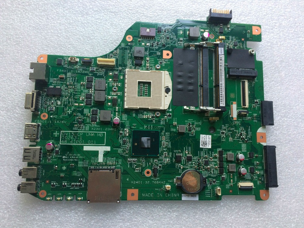 working perfectly CN 0RMRWP For DELL insprion N5040 1540 Laptop motherboard 48.4IP01.011 mainboard