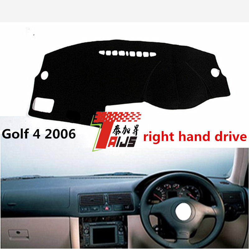 TAIJS Right hand drive car dashboard cover for Volkswagen Golf 4 2016 adumbral pad cover for Volkswagen