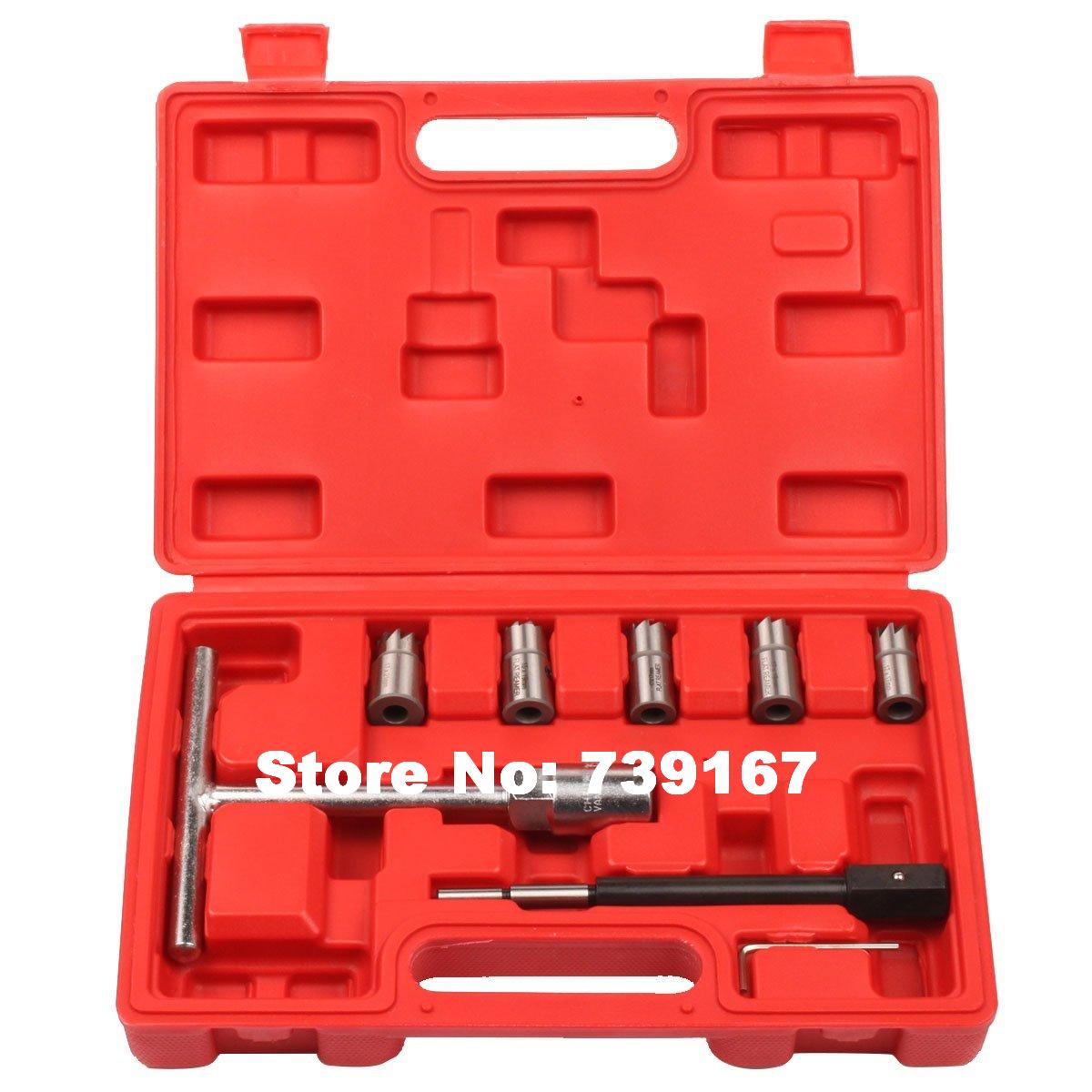 Other Garage Equipment & Tools Garage Equipment & Tools 17pc Diesel Injector Seat Cutter Set BMW Ford Renault Bosch Peugeot Citroen
