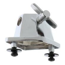 Tom Mount Chrome Floor Leg Bracket for Drum Set Parts Replacement Accessory