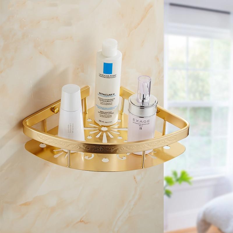 1/2 tier bathroom triangle shelf gold plated, Retro wall toilet ...