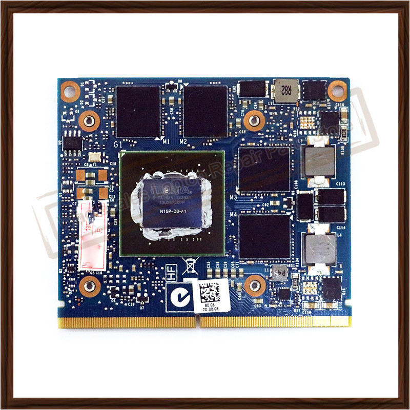 Working Well N15P-Q3-A1Video Display Card For HP 8560W 8570W 8770W ZBOOK 15 17 K2100M K610M 1GB Graphic Card 100% Genuine Tested fiber card for 3276122 a dkf42 4gbp w 2xgbic well tested working