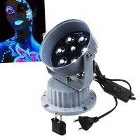 High power LED 365nm BLB Ultra Violet UV Blacklight Blue, for performances, impact resistant bulbs 5LED replace 150W Black L