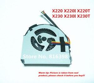 Free Shipping New FOR Lenovo X220 X220I X220T X230 X230I X230T cooling FAN Built-in