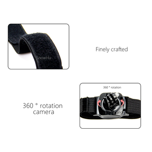 Image 5 - SnowHu for Gopro Accessories 360 Degree Rotation Hand Wrist Strap Band for Go pro Hero 9 8 7 6 5 for Xiaomi Yi 4k for sjcam LD09
