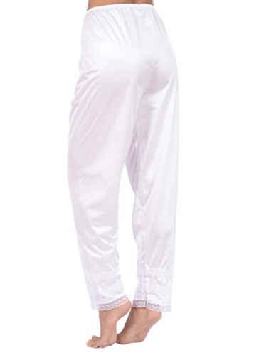 b8d0af812a ... New Women Soft Slip Liner Ladies Girl Sleepwear Solid Color Elastic  Waist Pyjama Sleep Bottoms Lounge ...