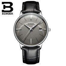 Horloges mannen Switzerland BINGER Automatic Watches Men lux