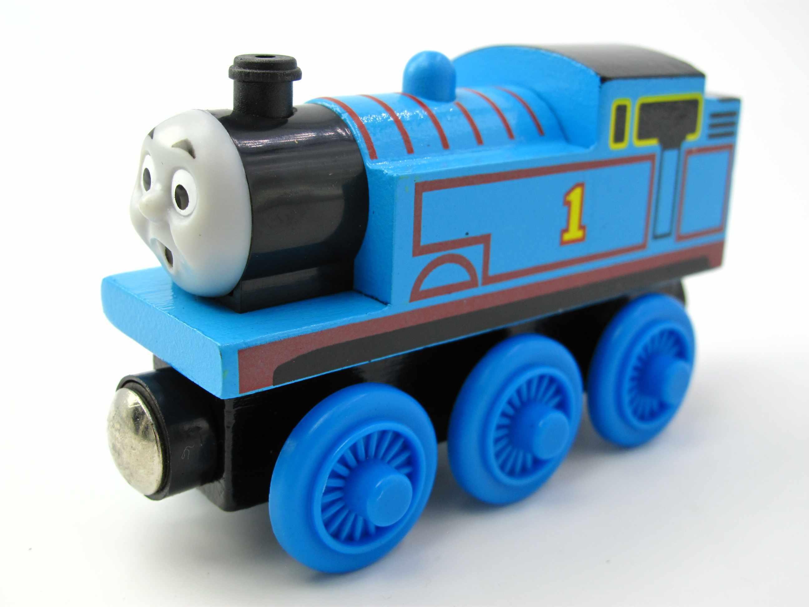 Деревянный поезд T130W № 1 Магнитный Грузовик автомобилей локомотив железнодорожные игрушки для детей
