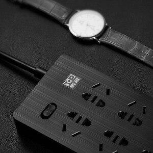 Image 3 - Originele Youpin Tp 6 Poorten Stopcontact Overbelasting Bescherming 750 Vertrager Vlam Thuis Elektronische Extension Socket Zwart