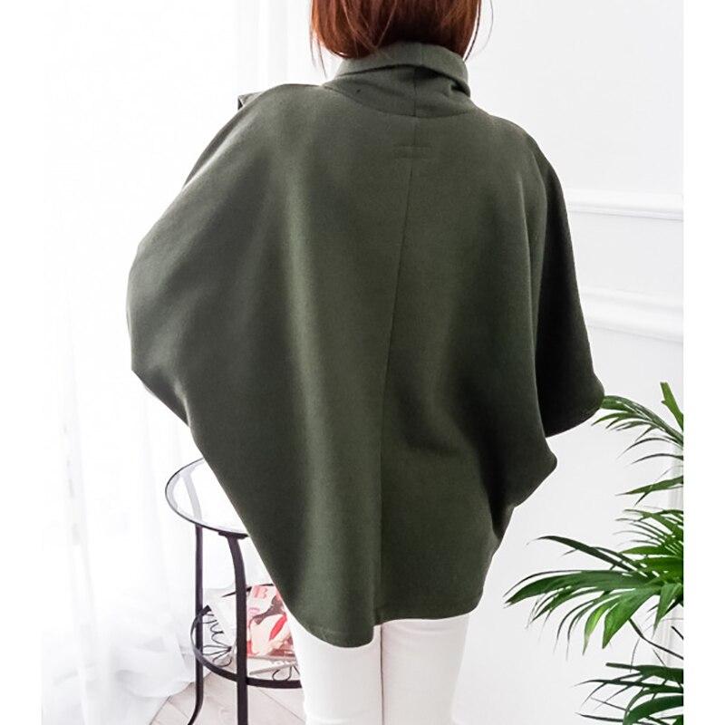Autumn Sweatshirts Batwing Sleeve 2018 Female Plus Size Winter Hoodies Harajuku Tracksuit Pullover Outerwear Women Jacket GV018