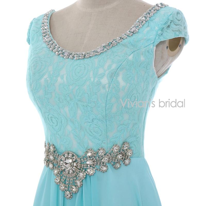 Vivian's Bridal Crystal Beads Ұзын кешкі көйлек - Ерекше жағдай киімдері - фото 5