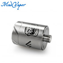 Authentic Wotofo Cigarette Electronique Vaporizer RDA The Troll RDA with Dual Coils Building Possibility Vaping Cloudy