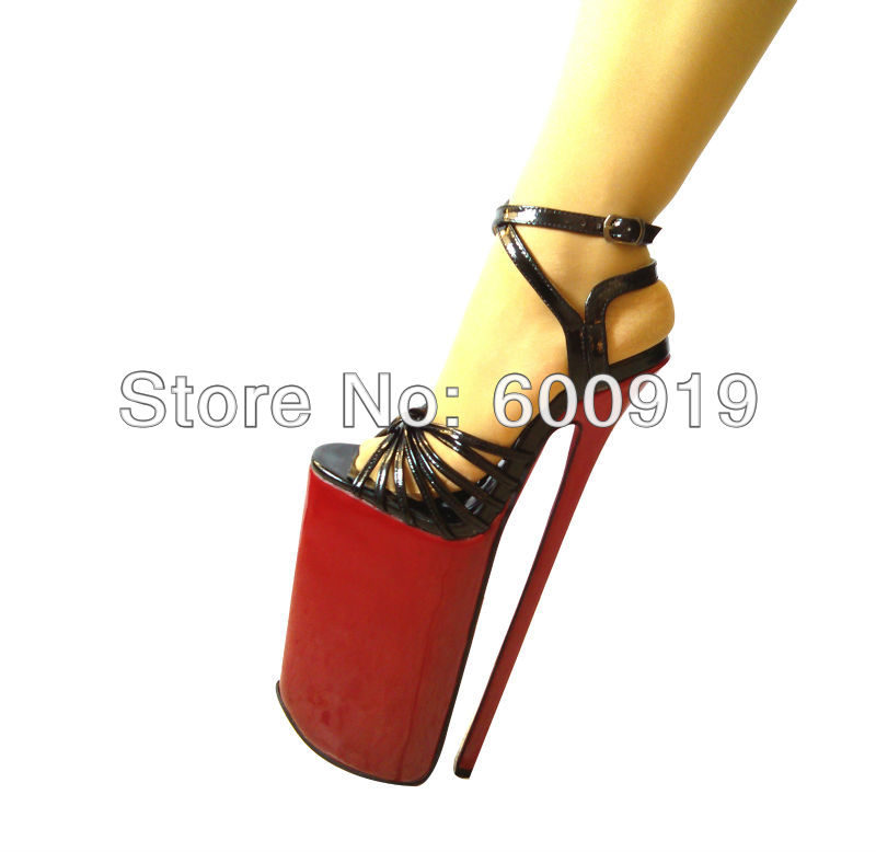 Free Shipping ,30cm Heel high Sexy Shoes ,High Heel Shoes,Genuine Leather Shoes,High Heels,NO.y3004 free shipping sexy shoes high heel shoes genuine leather shoes high heels no y3015